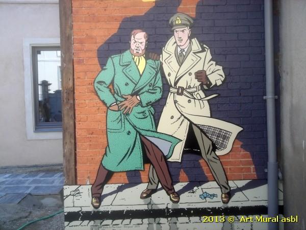 Blake et Mortimer au Mans