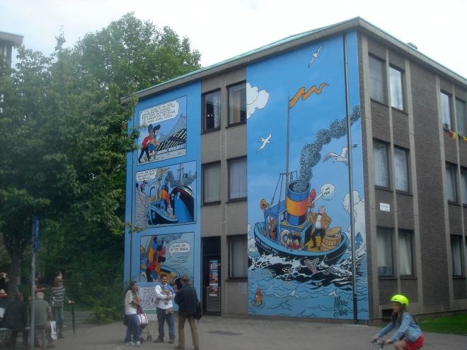 Inauguration du Mural Nero à Anvers