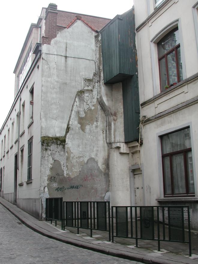 'Odilon Verjus' le mur avant