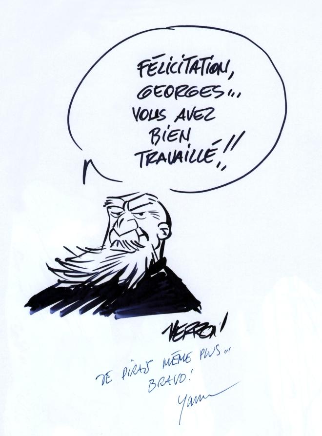 'Odilon Verjus' dédicace de Verron et de Yann