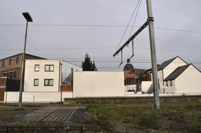 Le mur de Tubize avant la réalisation