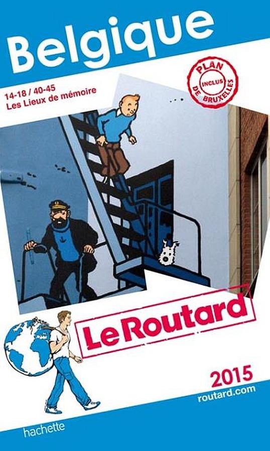 Couverture du guide Le Routard 2015 pour la Belgique