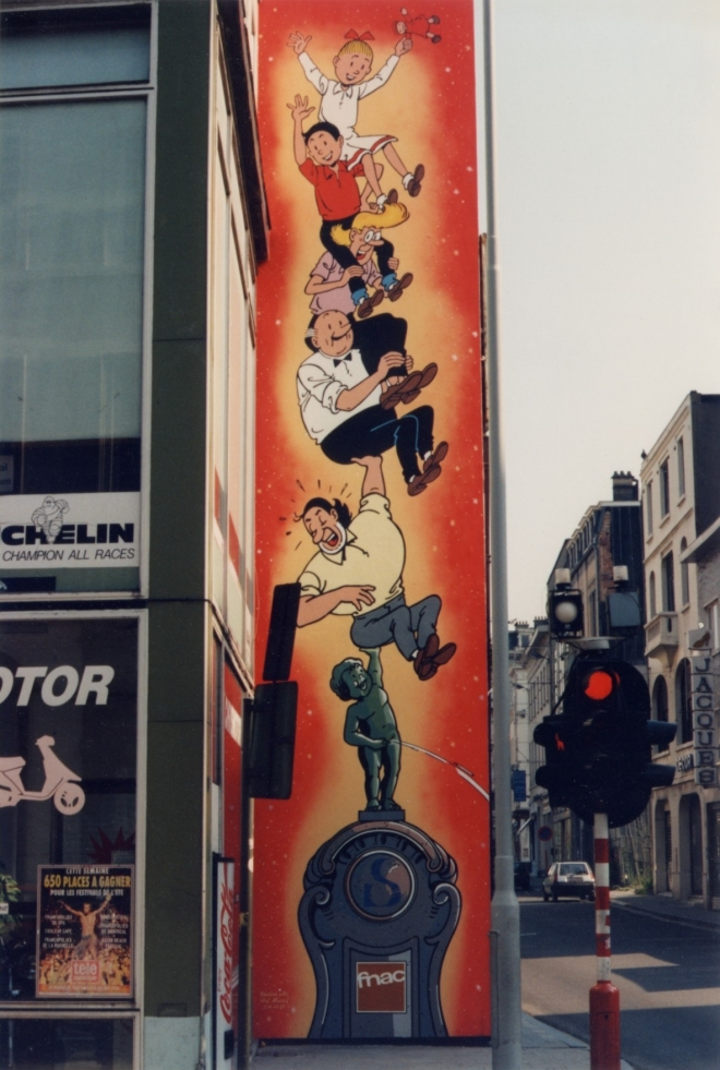 Bob et Bobette - parcours BD de Bruxelles