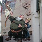 Le mural «Odilon Verjus» a 10 ans.
