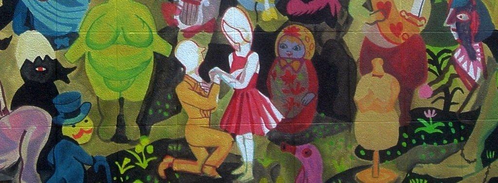 Amour de Brecht Evens - Parcours BD ANVERS - 2012