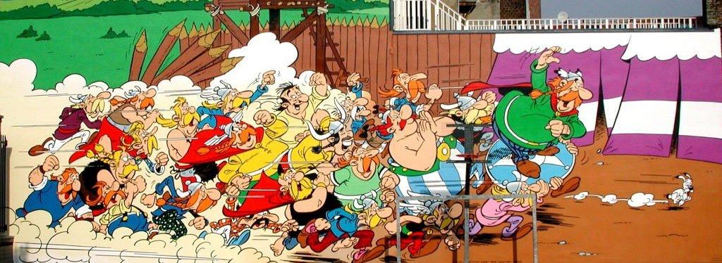 Asterix de Uderzo & Goscinny - Parcours BD BRUXELLES - 2005