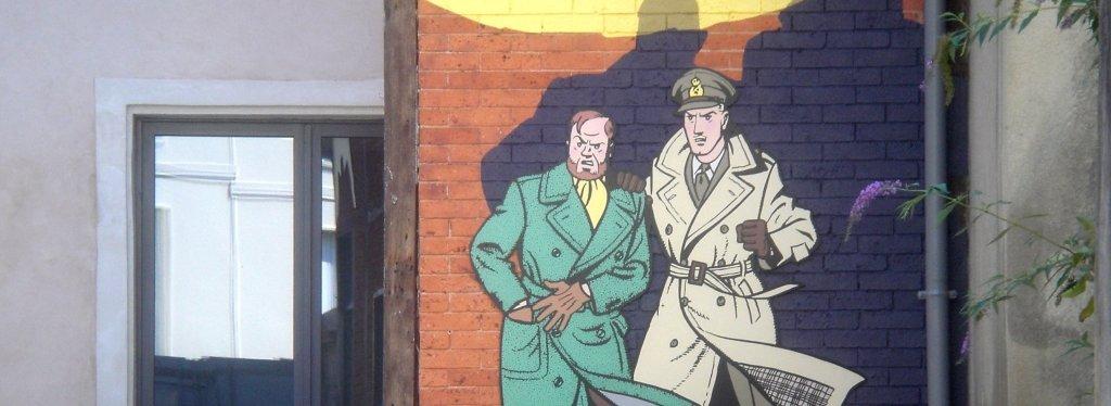 Blake & Mortimer de E-P Jacobs - Librairie BULLE - LE MANS - 2013