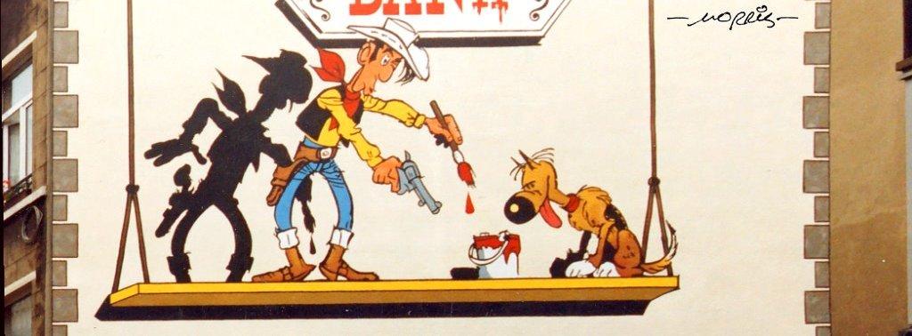 Lucky Luke de Morris - Parcours BD BRUXELLES - 1993