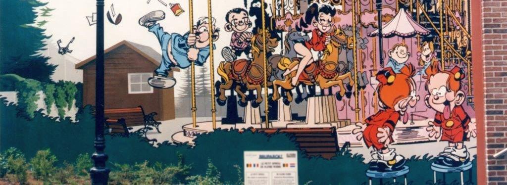 Petit Spirou de Tome & Janry - Parcours BD LAEKEN - 1996