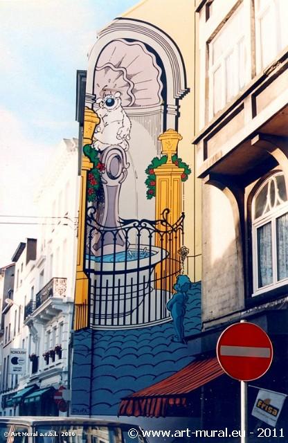 rick peinture murale