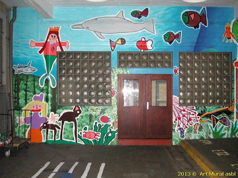 Wsl pb for Ecole d art mural